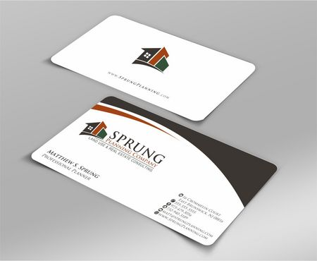 Matthew S. Sprung  Business Cards and Stationery  Draft # 218 by Deck86
