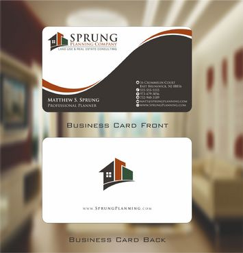 Matthew S. Sprung  Business Cards and Stationery  Draft # 219 by Deck86