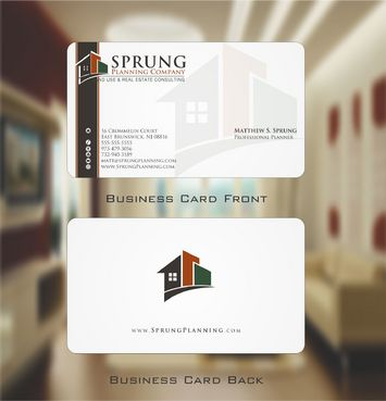 Matthew S. Sprung  Business Cards and Stationery  Draft # 224 by Deck86