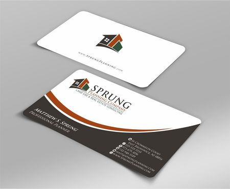 Matthew S. Sprung  Business Cards and Stationery  Draft # 226 by Deck86