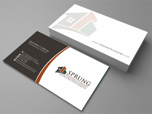 Matthew S. Sprung  Business Cards and Stationery  Draft # 227 by Deck86