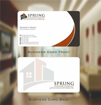 Matthew S. Sprung  Business Cards and Stationery  Draft # 228 by Deck86