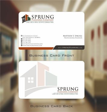 Matthew S. Sprung  Business Cards and Stationery  Draft # 229 by Deck86