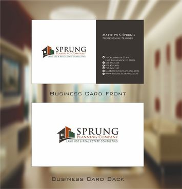 Matthew S. Sprung  Business Cards and Stationery  Draft # 231 by Deck86