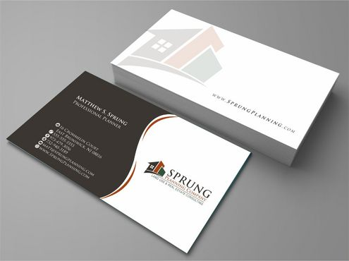 Matthew S. Sprung  Business Cards and Stationery  Draft # 230 by Deck86