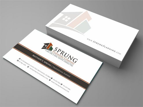 Matthew S. Sprung  Business Cards and Stationery  Draft # 232 by Deck86