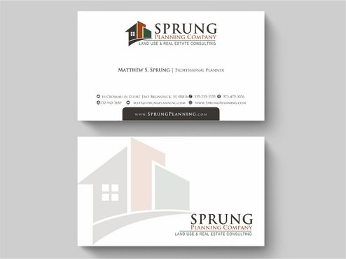 Matthew S. Sprung  Business Cards and Stationery  Draft # 234 by Deck86