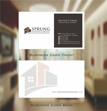 Matthew S. Sprung  Business Cards and Stationery  Draft # 235 by Deck86