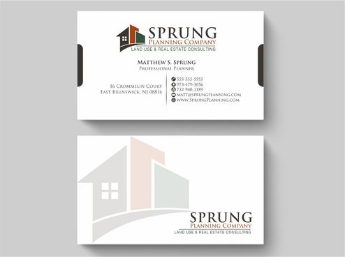 Matthew S. Sprung  Business Cards and Stationery  Draft # 236 by Deck86