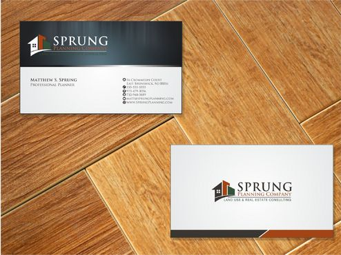 Matthew S. Sprung  Business Cards and Stationery  Draft # 237 by Deck86