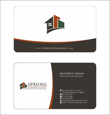 Matthew S. Sprung  Business Cards and Stationery  Draft # 239 by Deck86