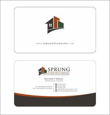 Matthew S. Sprung  Business Cards and Stationery  Draft # 240 by Deck86