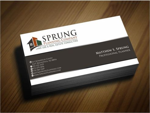 Matthew S. Sprung  Business Cards and Stationery  Draft # 241 by Deck86