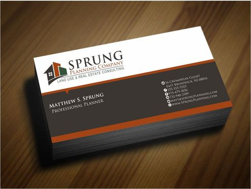 Matthew S. Sprung  Business Cards and Stationery  Draft # 242 by Deck86