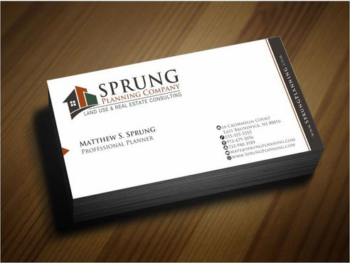 Matthew S. Sprung  Business Cards and Stationery  Draft # 243 by Deck86