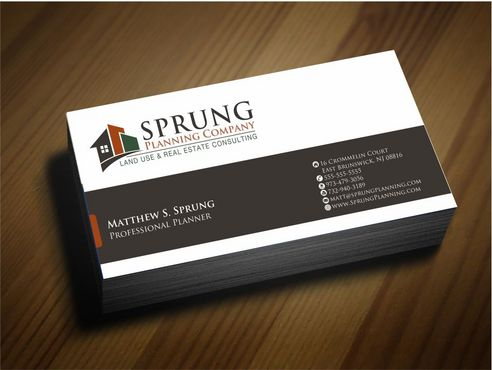 Matthew S. Sprung  Business Cards and Stationery  Draft # 244 by Deck86