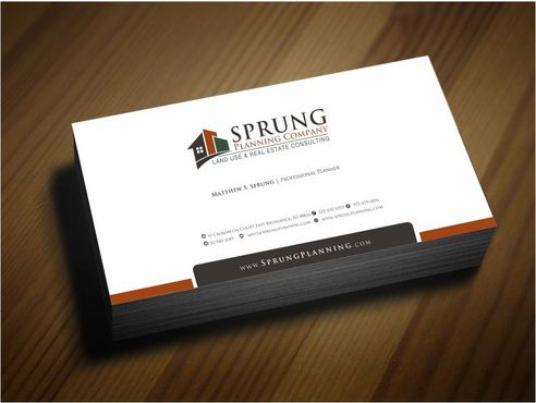 Matthew S. Sprung  Business Cards and Stationery  Draft # 245 by Deck86