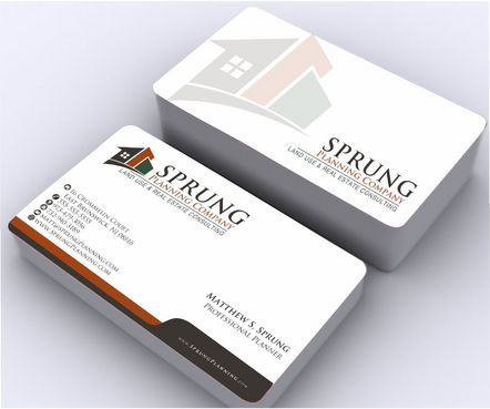 Matthew S. Sprung  Business Cards and Stationery  Draft # 248 by Deck86