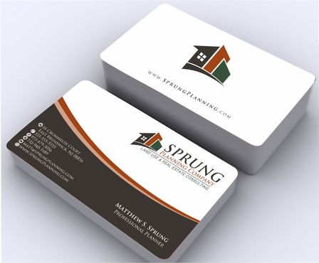 Matthew S. Sprung  Business Cards and Stationery  Draft # 249 by Deck86