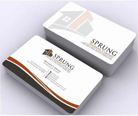 Matthew S. Sprung  Business Cards and Stationery  Draft # 250 by Deck86