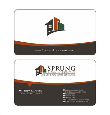 Matthew S. Sprung  Business Cards and Stationery  Draft # 255 by Deck86