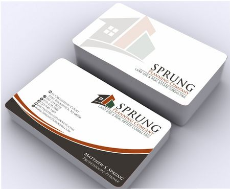 Matthew S. Sprung  Business Cards and Stationery  Draft # 257 by Deck86