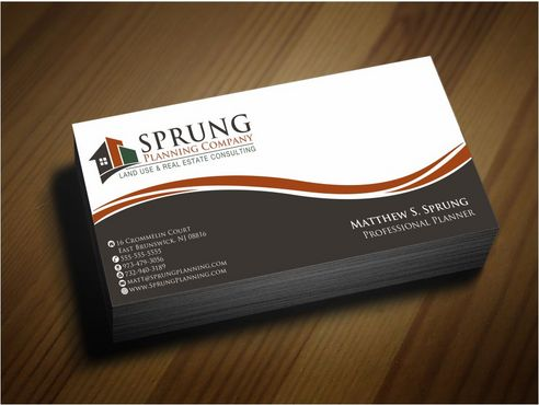 Matthew S. Sprung  Business Cards and Stationery  Draft # 260 by Deck86