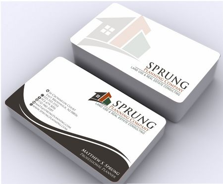 Matthew S. Sprung  Business Cards and Stationery  Draft # 259 by Deck86