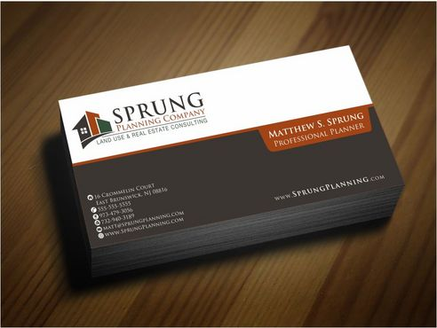 Matthew S. Sprung  Business Cards and Stationery  Draft # 261 by Deck86