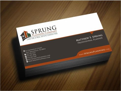 Matthew S. Sprung  Business Cards and Stationery  Draft # 262 by Deck86