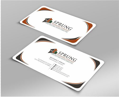 Matthew S. Sprung  Business Cards and Stationery  Draft # 264 by Deck86