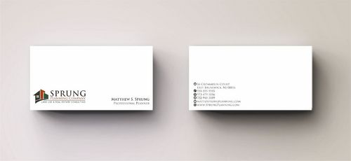 Matthew S. Sprung  Business Cards and Stationery  Draft # 266 by Deck86