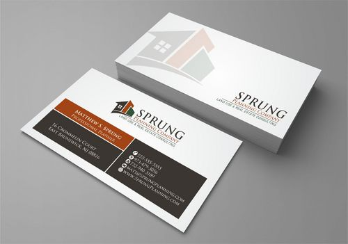 Matthew S. Sprung  Business Cards and Stationery  Draft # 268 by Deck86