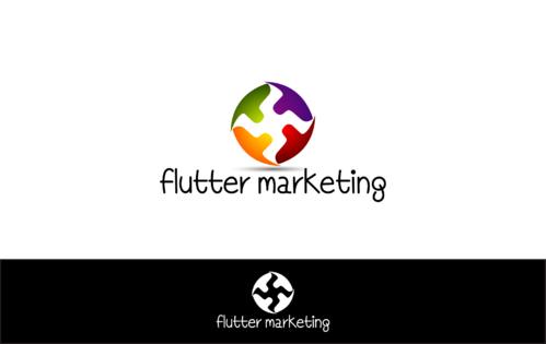 Flutter Marketing A Logo, Monogram, or Icon  Draft # 29 by blingdesign