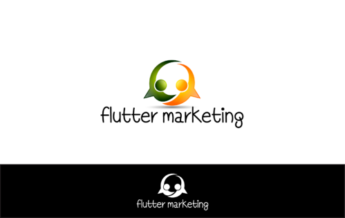 Flutter Marketing A Logo, Monogram, or Icon  Draft # 30 by blingdesign