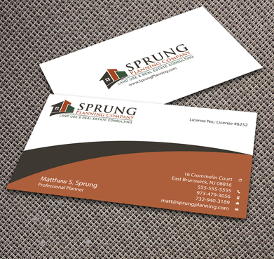 Matthew S. Sprung  Business Cards and Stationery  Draft # 271 by jpgart92