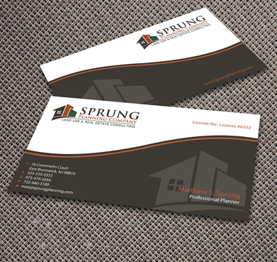 Matthew S. Sprung  Business Cards and Stationery  Draft # 272 by jpgart92
