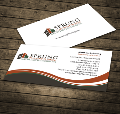 Matthew S. Sprung  Business Cards and Stationery  Draft # 275 by jpgart92