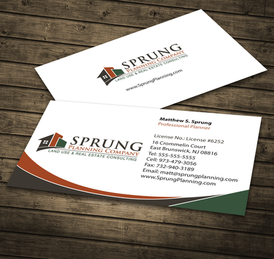Matthew S. Sprung  Business Cards and Stationery  Draft # 274 by jpgart92