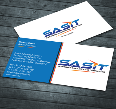 Sprint Advanced Systems Business Cards and Stationery  Draft # 151 by jpgart92