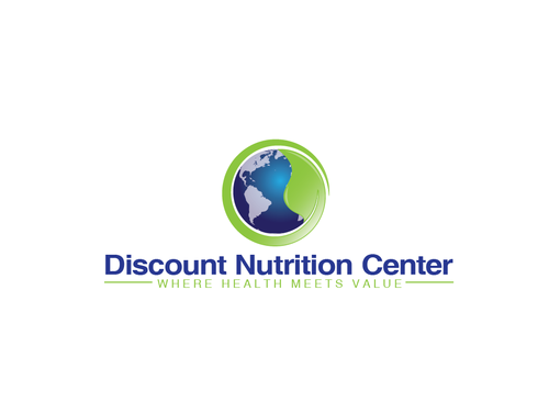 Discount Nutrition Center A Logo, Monogram, or Icon  Draft # 26 by PeterZ