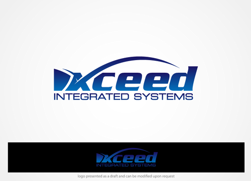 XCEED INTEGRATED SYSTEMS A Logo, Monogram, or Icon  Draft # 30 by hands4art
