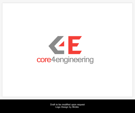 Core 4 Engineering A Logo, Monogram, or Icon  Draft # 92 by mickle