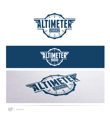 Altimeter 2992 A Logo, Monogram, or Icon  Draft # 6 by apstudio
