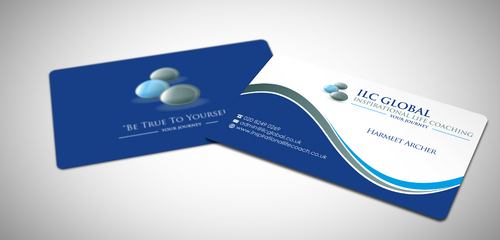 ILC Global Ltd Business Cards and Stationery  Draft # 36 by sevensky