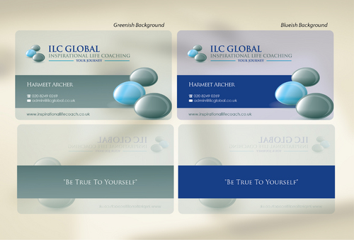 ILC Global Ltd Business Cards and Stationery  Draft # 41 by sevensky