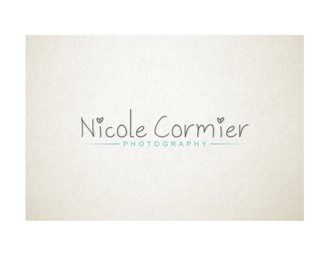 Nicole Cormier Photography A Logo, Monogram, or Icon  Draft # 84 by Ndazikil