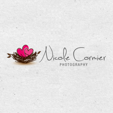 Nicole Cormier Photography Logo Winning Design by AbsolutMudd