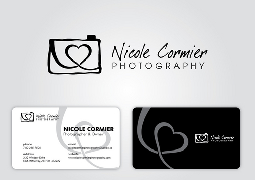 Nicole Cormier Photography Business Cards and Stationery  Draft # 19 by sikamcoy222