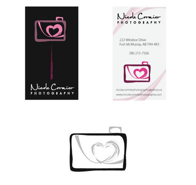 Nicole Cormier Photography Business Cards and Stationery  Draft # 21 by mop3d